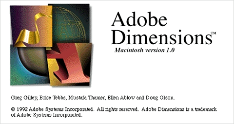 Adobe Dimensions